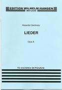 Lieder Op. 8 - Alexander Zemlinsky - Partition - laflutedepan.com