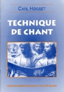 Technique de chant - Carl Hogset - Livre - laflutedepan.com