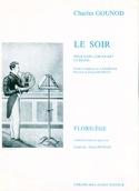 Le Soir Charles Gounod Partition Cor - laflutedepan.com