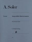 Ausgewählte Klaviersonaten Antonio Soler Partition laflutedepan.com