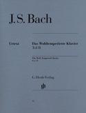 Le Clavier Bien Tempéré Volume 2 BACH Partition laflutedepan.com