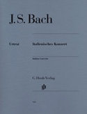 Concerto Italien BACH Partition Piano - laflutedepan.com