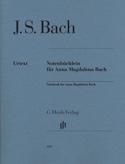 Petit Livre d'Anna Magdalena Bach BACH Partition laflutedepan.com