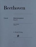 Sonates pour Piano Volume 1 BEETHOVEN Partition laflutedepan.com