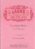 Duo des Fleurs de Lakmé. Léo Delibes Partition laflutedepan.be