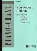10 Chansons, 8 Poètes - Joseph Kosma - Partition - laflutedepan.com