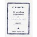 24 Vocalises Progressives N° 3 Opus 85 laflutedepan.com