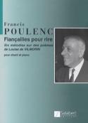 Fiançailles Pour Rire. - Francis Poulenc - laflutedepan.com