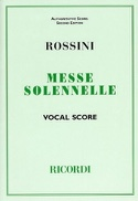 Petite Messe Solennelle Gioachino Rossini Partition laflutedepan.com