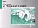 Un Poème, une Chanson, Volume 1 - François Vellard - laflutedepan.com