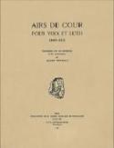 Airs de cour (Voix et Luth) - Partition - Luth - laflutedepan.com