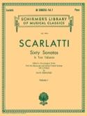 60 Sonatas. Volume 1 Domenico Scarlatti Partition laflutedepan.com