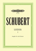 Lieder Volume 1. Voix Grave SCHUBERT Partition laflutedepan.com