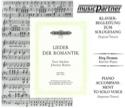 Lieder Der Romantik Voix Haute. CD laflutedepan.com