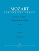 Le Nozze Di Figaro K 492 MOZART Partition Opéras - laflutedepan.com