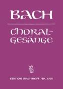 389 Choralgesänge BACH Partition Chœur - laflutedepan