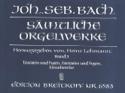 Sämtliche Orgelwerke Volume 3 BACH Partition Orgue - laflutedepan