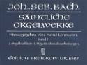 Sämtliche Orgelwerke Volume 7 BACH Partition Orgue - laflutedepan.com