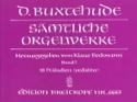 Oeuvre Pour Orgue. Volume 1 Dietrich Buxtehude laflutedepan.com