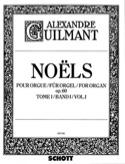 Noëls Volume 1 Opus 60 Alexandre Guilmant Partition laflutedepan.com