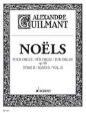 Noëls Volume 2 Opus 60 Alexandre Guilmant Partition laflutedepan.com