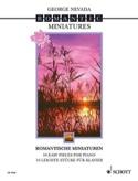 Romantische Miniaturen George Nevada Partition laflutedepan.com