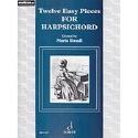 12 Easy Pieces For Harpsichord Partition Clavecin - laflutedepan.com
