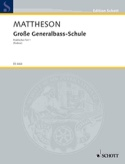 Grosse Generalbass-Schule Johann Mattheson Partition laflutedepan.com