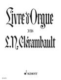 Livre D'orgue Louis-Nicolas Clérambault Partition laflutedepan.com