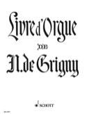 Livre d'Orgue Nicolas de Grigny Partition Orgue - laflutedepan.com