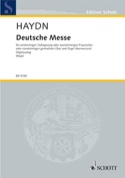 Deutsche Messe Michael Haydn Partition Chœur - laflutedepan.com
