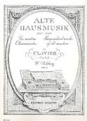 Alte Hausmusik Bd 1. Partition Clavecin - laflutedepan.com