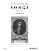 Songs, Bd. 4. Voix Grave - Henry Purcell - laflutedepan.com