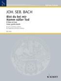 Bist Du Bei Mir / Komm, Süsser Tod. Voix Grave - laflutedepan.com