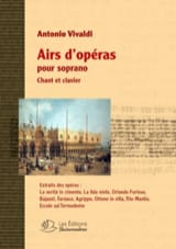 VIVALDI - Opera tunes for soprano - Sheet Music - di-arezzo.co.uk
