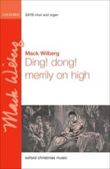 Mack Wilberg - Ding Dong! Merrily on high - Partition - di-arezzo.fr