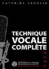 Technique Vocale Complète - Cathrine Sadolin - laflutedepan.com