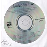 Classics for two. CD Partition laflutedepan