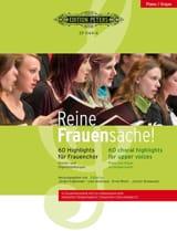 Reine Frauensache. Partie Piano Partition Chœur - laflutedepan.com