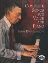 Complete Songs For Voice And Piano RACHMANINOV laflutedepan.com