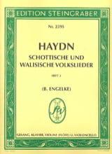 Joseph Haydn - Schottisch und Walisische Volkslieder - Partition - di-arezzo.fr