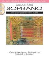 Opera Anthology: Arias for Soprano. Accompagnements 2 CD laflutedepan.com