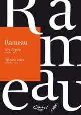 Airs d'opéra Dessus Volume 1 - Jean-Philippe Rameau - laflutedepan.com