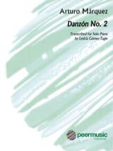 Danzon n°2 - Arturo Marquez - Partition - Piano - laflutedepan.com