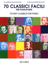 70 Classiques faciles pour piano Partition Piano - laflutedepan.com