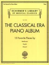 The Classical Era Piano Album Partition Piano - laflutedepan.com