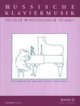 Russische Klaviermusik Volume 2 Partition Piano - laflutedepan.com