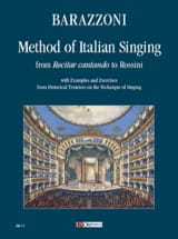 Maurizia Barazzoni - Method of Italian Singing - Partition - di-arezzo.fr