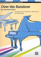 Over the Rainbow. 2 Pianos 8 mains Harold Arlen laflutedepan.com