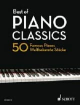 Best of Piano Classics (Edition Reliée) Partition laflutedepan.com